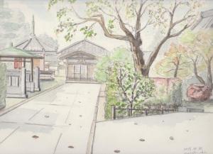 谷中のお寺